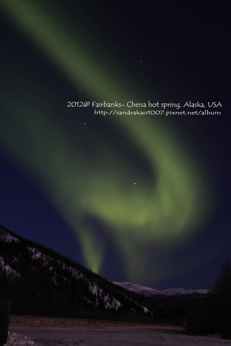 Aurora in Fairbanks, Alaska